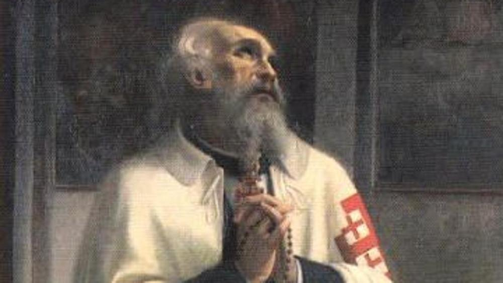 Beato Bartolo Longo. Cavaliere dell'Ordine Equestre del  Santo Sepolcro di Gerusalemme